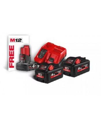 M18 HNRG-802 Kit batterie...