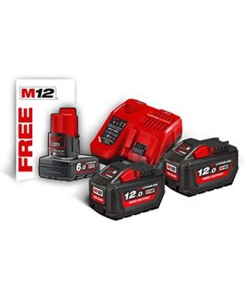 M18 HNRG-122 Kit batterie...